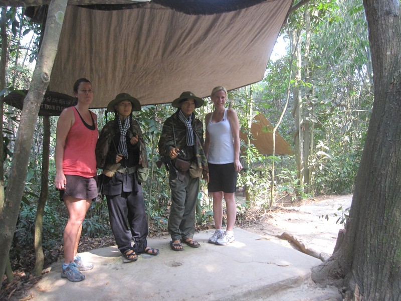 Viet Cong at Cu Chi tunnel